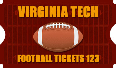 Virginia Tech Football Tickets 123 Logo